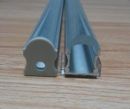 Free Shippin Led Aluminum Profile with Clear Cover or Milky Diffuse Cover,Aluminum Profile Led Strip Light,Aluminum Profile For LED Bar