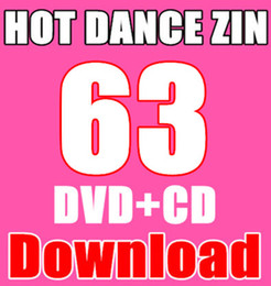 Wholesale New South America HOT DANCE ZIN Comprehensive dances ZIN63 Video DVD Music CD