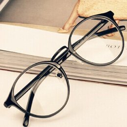 Wholesale Mens Womens Nerd Glasses Clear Lens Eyewear Unisex Retro Eyeglasses Spectacles Hot Sale