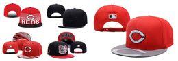 Promotion snapbacks pas cher retour 2016 Cincinnati Reds Snapback Adjustable Hat Snap Back Hat Football Cheap Hat hommes femmes Baseball Cap