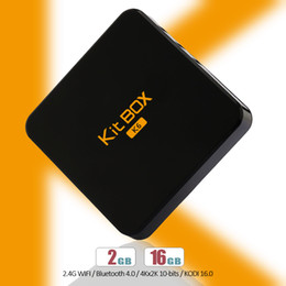 Wholesale Rockchip RK3229 Ott TV Box Unblock Kit K6 Android Smart Quad Core External Antenna Hd Output Adapted PTV Sports Live Streaming TV Box