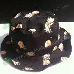 Wholesale New Lovely Banana Fruit Bucket Hats Printed Sun Hat for Women Outdoor Sunbonnet Chapeau Touca Designer Fisherman Cap Casquette