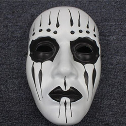 Halloween horror movie theme mask masks Slipknot Joey Mask slipknot band slipknot mask PVC environmentally friendly materials