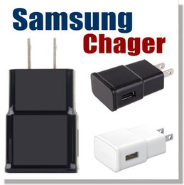Wholesale Samsung S6 USB Power Adapter Universal Home Battery Charger V A V A In One Port usb wall Chargers travel AC Adapters OEM