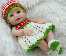 10inch Fashion Full Silicone Reborn Baby Doll Mini Realistic Fashion Doll Baby Gift for Baby Christmas and Birthday