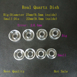 Wholesale Quartz Dish for Quartz Titanium Hybrid Ti Qtz Titanium Domeless Nai Replaceable Quartz Dish Highly Educated Quartz Hybrid Nail Bongs best