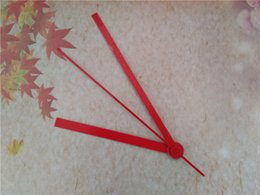 Wholesale Red Hands 50PCS Hands For Clock Repair Clock Hands Free Shipping