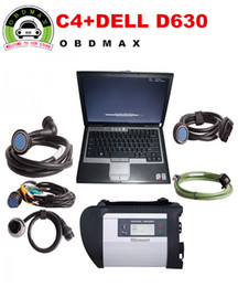 Wholesale MB SD Connect Compact Star C4 Diagnosis2016 Plus D630 Laptop Software Installed Ready to Use DAS XENTRY MB Star C4