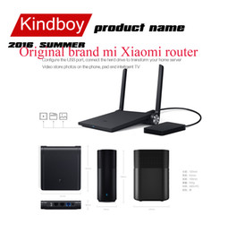 Wholesale Original brand mi Xiaomi router black wifi router ac wireless MT7620A MB G G dual band ac antenna smart mini router