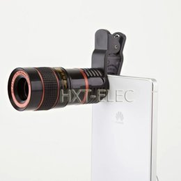 8X zoom lens mobile phone universal telescope black color for iphone samsung smart phones