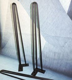 Wholesale ON SALE new collection most popular table legs metal hairpin leg for furniture height of rods