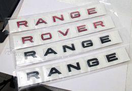 Car Styling machine Bonnet Autocollant métal pour LAND ROVER RANGE ROVER Evoque Freelander Badge Accessoires conception d'autocollant bon marché et imprimer à partir de autocollants machines d'impression fournisseurs