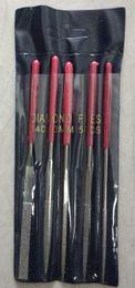 Wholesale 5pcs set mm grit diamond needle file set polishing tool DIY Hobby Craft Guitar Art