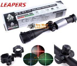 Wholesale ALCANCE TÁCTICO SCP AOMDLTS de la ÓPTICA del MIL DOT del TAMAÑO COMPLETO del Riflescope de la caza del alcance de la caza de los PERROS UPC X40 de Envío libre