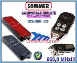 For SOMMER 4035 compatible remote control garage door opener transmitter 868,8MHZ