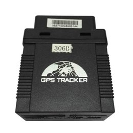 Wholesale TK306B GPS GSM GPRS Tracker OBD OBDII Vehicle Tracking Locator GPS306B Goole SMS Real Time Tracking G attendance management