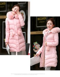 Wholesale 2016 winter long in han edition cultivate one s morality big yards cotton padded jacket heavy hair brought down cotton padded jacket