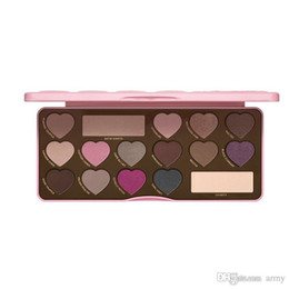 Wholesale New arrival Makeup BON BONS Chocolate Bar Eyeshadow Palette Colors Eyeshadow Love Heart how to clamour guide