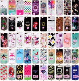 Wholesale Marble Skull Diamond Camouflage Animal Butterfly Soft TPU Gel Case For Iphone Plus Dolphin Dreamcatcher Batman flower fruit Cover Skin