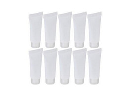 Factory Price 5ml Mini Transparent Whorl Cover Soft Empty Cosmatic Travel Plastic Packing Bottle Tubes Pack