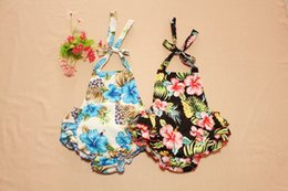Baby Romper Girls Flower set Kids Suit For 0y-3y Girl The Little Baby Clothes Babys Clothes 2016 High Quality