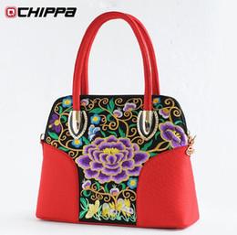 Wholesale Women s bags autumn and winter fashion trend national embroidery flower female shoulder bag messenger bag handbag women s