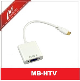 Mini-HDMI Male to VGA Video Cable Converter Adapter 1080P for PC US