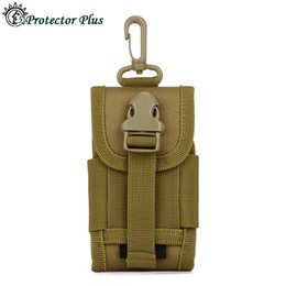 Wholesale Tactical Pouch Waist Bag For Molle Cell Phone Belt Bag For Smartphone Waist Pack MOLLE PALS Coyote Brown Mini Buckle Utility