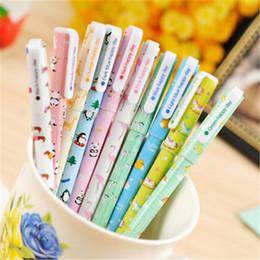 Cute Color Gel Pens Panda Penguins animal gel pen for DIY Scrapbooking decor Christmas Gift cute korean stationery