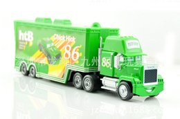 Wholesale Cars Toys 86 Truck - Hot 1 32 miniature cars toys piston No.86 htb chick truck trailers alloy metal race car styling die cast model car toys children