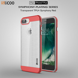 Wholesale Neo Hybrid Phone Case for i Phone s TPU PC Wire Drawing Case for iPhone SE s s Plus Colors