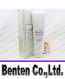 Wholesale 2016 NEW Soybean essence cleansing gel cleanser Natural no stimulation Pregnant women are available VOL174