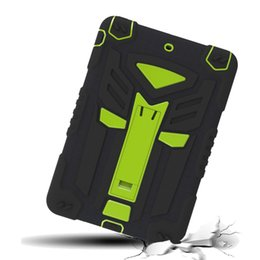 Wholesale new transformers autobots turnkey for ipad mini tablet three protection shell silica gel protective sleeve