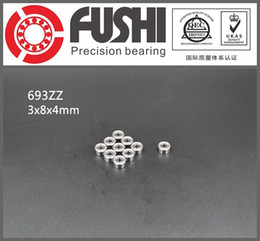 Wholesale 693ZZ ABEC x8x4MM Miniature Ball Bearings ZZ