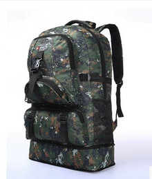 High Quality 60L Outdoor Military Sports Hiking Backpack Camping Bag Rucksacks Travel Bag Computer Bag