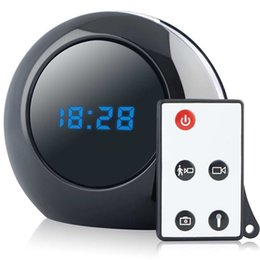 16GB 1280X960 Multi Function Alarm Clock Cam Mini Clock Camera Audio Video Recorder Mini Camcorder Motion Detection Security DVR Nanny Cam