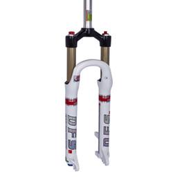 "DFS air fork DFS-RLC(DUAL AIR) 26er 27.5er suspension mountain fork bicycle MTB fork smart lock out damping adjust 100mm travel 1-1 8"""