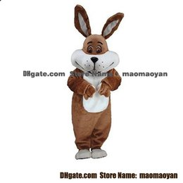Wholesale Bunny Mascot Costumes Cartoon Character Adult Sz Real Picture