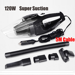 Wholesale Auto Accessories Portable M W V Car Vacuum Cleaner Handheld Mini Super Suction Wet And Dry Dual Use Vaccum Cleaner For Car