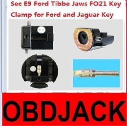 Wholesale 2016 Newest Sec E9 Key Cutting Machine Parts Forford Tibbe Jaws FO21 Key Clamps Special for Ford andjaguar Key