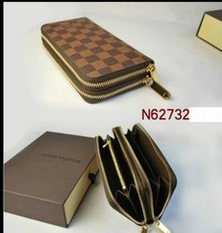 Wholesale Hot Sell and retail new PU Leather mens and womens purse card Holders zipper wallet color for pick
