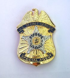 Wholesale The United States Secret Service badge beauty metal badge presidential bodyguard badge chapter