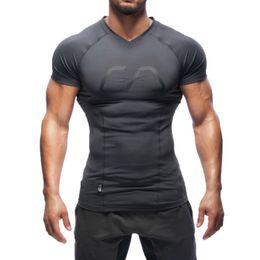 Camisas de compresión para hombre manga corta running Camisetas bajo camisas spandex Base Layers Camisetas desde capas base fabricantes
