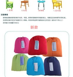 Wholesale 150PCS HHA657 Candy colors baby Portable Seat Cover Sack n Seat Kids Safety Seat Cover Baby Upgrate Baby Eat Chair Seat Belt