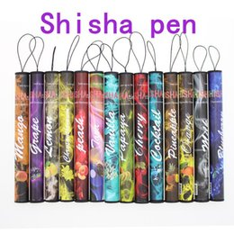 E ShiSha Time disposable electronic cigarette - DHL Enough 500 Puffs Various fruit flavors colorful disposable E-cigs hookah pen