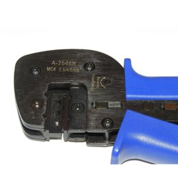 Wholesale 5pcs Solar Pv MC4 Crimping tool for MC4 connector solar cable m2 mm2 mm2 PV Crimp Pliers tools