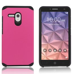 Newest Hybrid Defender Rugged Slim Armor Cases for Alcatel Stellar Tru Alcatel Dawn 5027 One Touch Idol 4 Alcatel Fierce 4 Pop 4