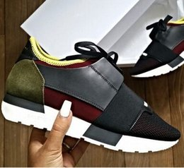 Wholesale 016 arrive Designer Brand sports shoes running sneakers trainers casual shoes Men Women Breathable mesh Shoes size