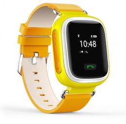 Wholesale Fashion Q60 Kid Smart Watch Bluetooth Wristwatch phone GPS SOS Call Locator Tracker Anti Lost Monitor Alarm Clock pedometer Sleeping Tracker