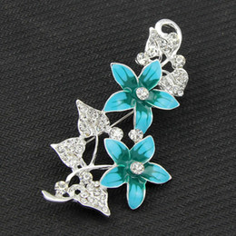 Wholesale Authentic Korean version of the beautifully painted flower brooch pin brooch wedding bride upscale quality of the whole network lowest